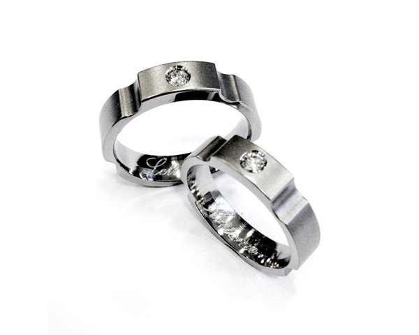 JeS-tianium Design - Titanium wedding rings